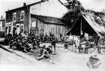 (11135) Soldiers, Encampments, France, 1917