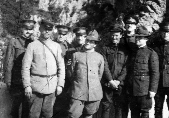 (11162) Officers, Military Leave, France, 1917