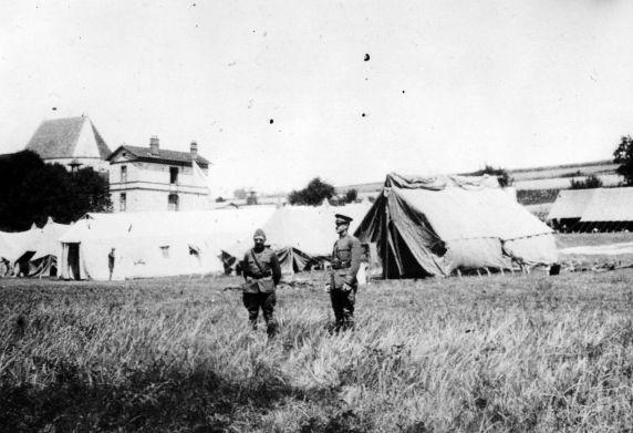 (11171) Field Hospital #27, France, 1917