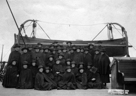(11247) Base Hospital #17, Nurses, S.S, Mongolia, 1917