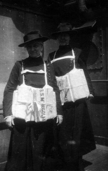(11248) Base Hospital #17, Nurses, S.S. Mongolia, 1917