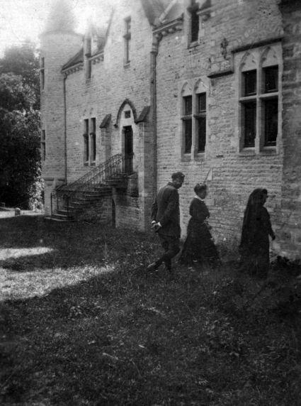 (11254) Chateau DeBost, Exterior View, Blenheims, France, 1918