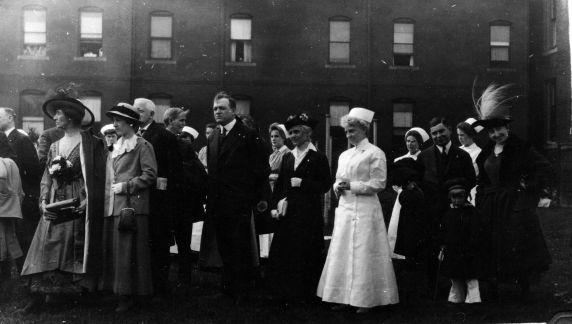 (11255) Base Hospital #17, Celebration, Detroit, Michigan, 1917