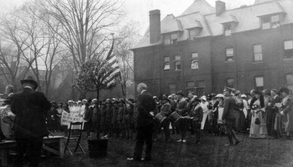 (11256) Base Hospital #17, Celebration, Detroit, Michigan, 1917