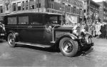 (11276) Ford Hunger March, Funeral Procession, Hearse, 1932