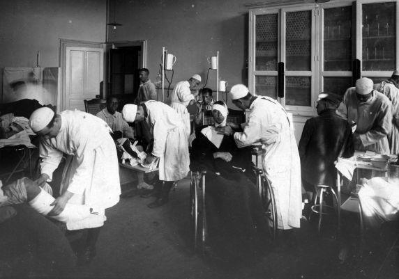 (11281) Base Hospital #17, Casualties, Dijon, France, 1917