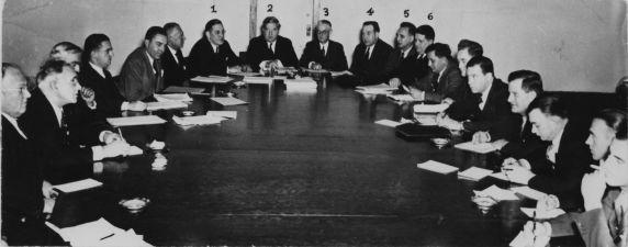 (11456) Chrysler Strike, Settlement Committee, Detroit, Michigan, 1939