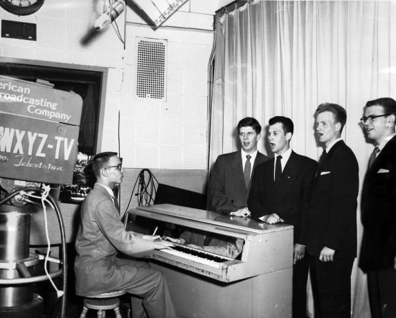 (11462) University Television, WXYZ-TV, ABC, Detroit, Michigan, 1950s