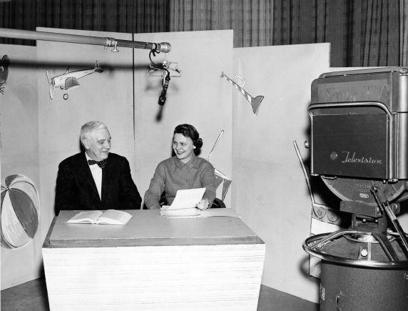 (11463) University Television, WTVS-TV, Channel 56, Programs, Detroit, Michigan, 1957