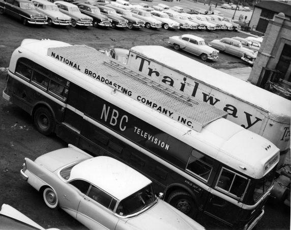 (11464) Television, National Broadcasting Company (NBC), Detroit, Michigan, 1955