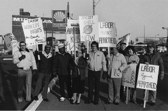 (11479) Demonstration, Shell Boycott, Detroit, Michigan