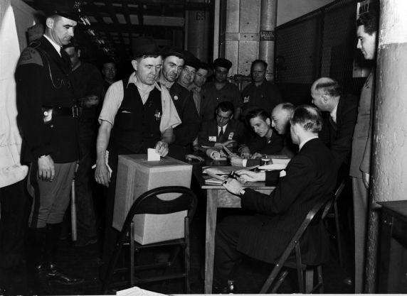 (11492) UAW-CIO, NLRB, Elections, Ford, Dearborn, Michigan, 1941