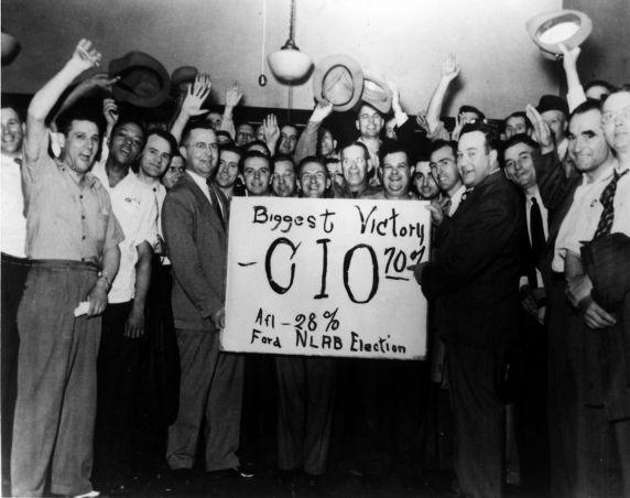 (11493) UAW-CIO, NLRB, Elections, Ford, Dearborn, Michigan, 1941