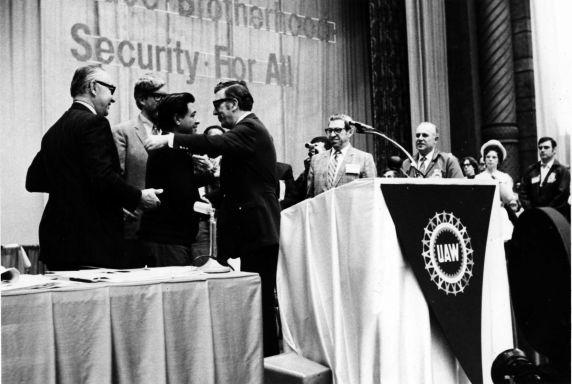 (11531) Chavez, Woodcock, Conventions, Atlantic CIty, New Jersey, 1972
