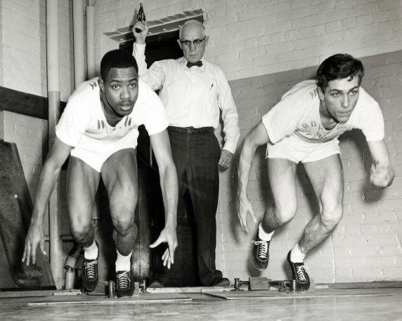 (11603) Wayne University, Athletics, Track and Field, 1950s