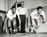 (11603) Wayne University, Athletics, Track and Field, 1950s