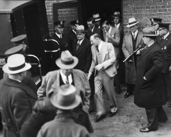 (11649) Purple Gang, Collingwood Massacre Trial, 1930s