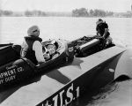 "(11729) Portrait, Anthony J. ""Tony"" Spina, Gold Cup Race, Detroit, 1970"