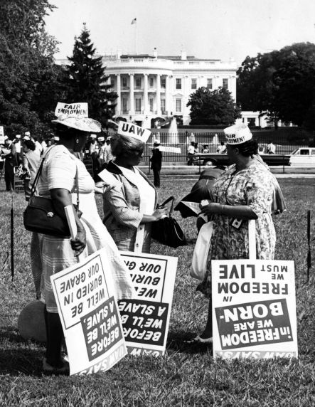 """(11768) Civil Rights, Demonstrations, """"March on Washington,"""" 1963"""
