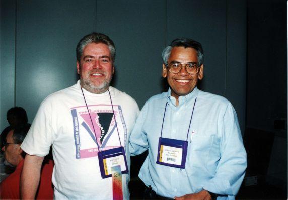 (11881) Eliseo Medina, Lavender Caucus, Convention, Pittsburgh, PA, 2000.