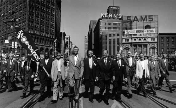 (11882) Parades, Labor Day, Detroit, 1952