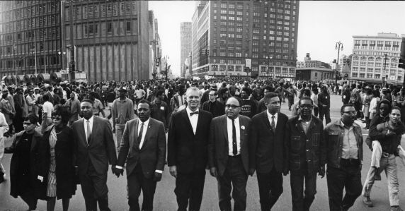 Walter P Reuther Library 11884 Demonstration Civil Rights Poor People S Campaign Detroit 1968