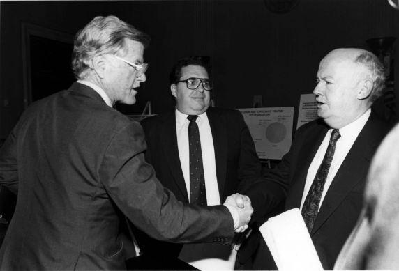 (11958) John Sweeney, Ted Kennedy, 1987