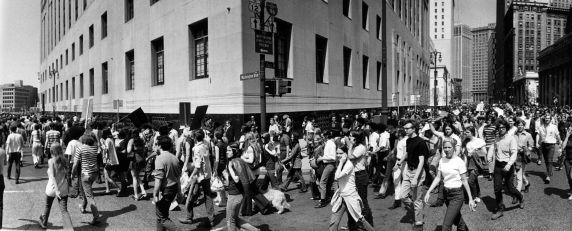 (12014) Demonstrations, Vietnam War, Detroit, 1970