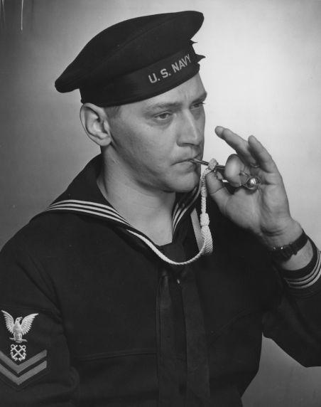 (12373) Navy Boatswain's Mate, AFSCME Member, 1942