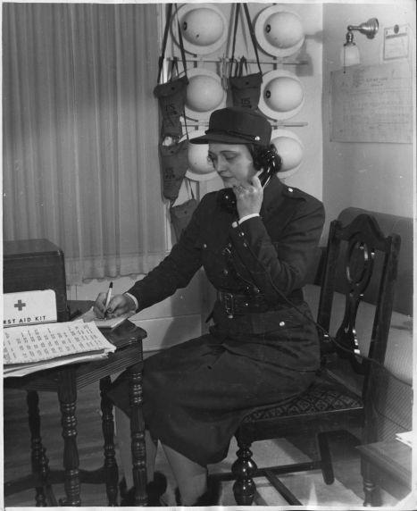 (12374) Civil Defense, Detroit, World War II