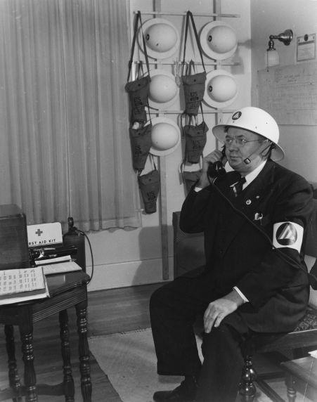 (12375) Civil Defense, AFSCME, Detroit, World War II