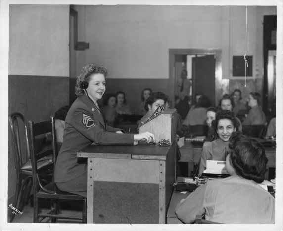 (12376) Women's Army Auxiliary Corps, AFSCME member, 1943