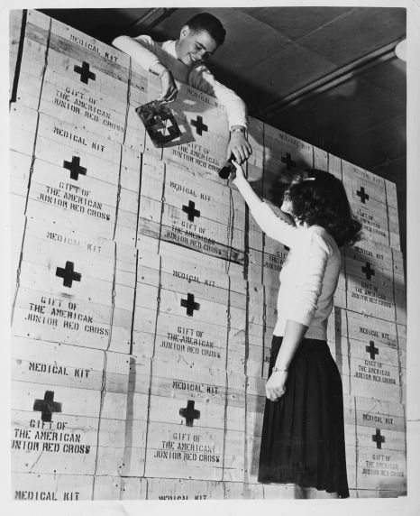 (12383) American Junior Red Cross, World War II