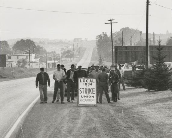 (12395) AFSCME road workers strike, Garrett County, Maryland