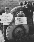 (12398) Road workers strike, Garrett County, MD, 1970