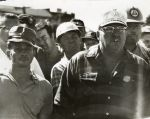 (12410) AFSCME Local 1834 road workers on strike, 1970