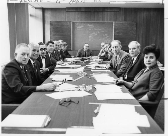 (12484) AFSCME financial study committee, 1969
