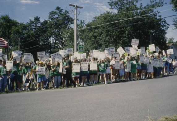 (12498) AFSCME Council 31, Local 3280 Anna Veterans' Home picket line