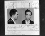 (13031) Purple Gang, Arrests, Sylvan Bernstein, 1935