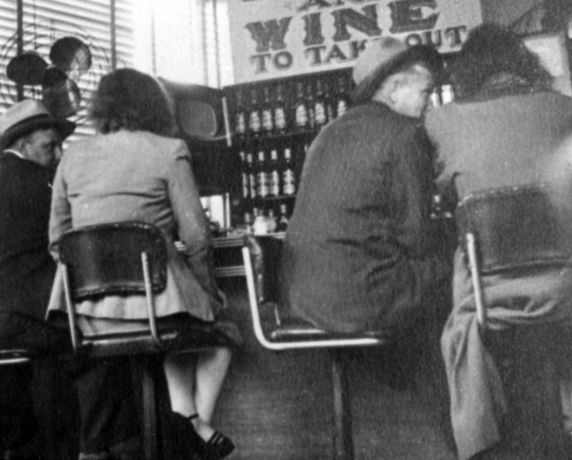 (1683) Poverty Scenes, Michigan Ave., Detroit, 1950s