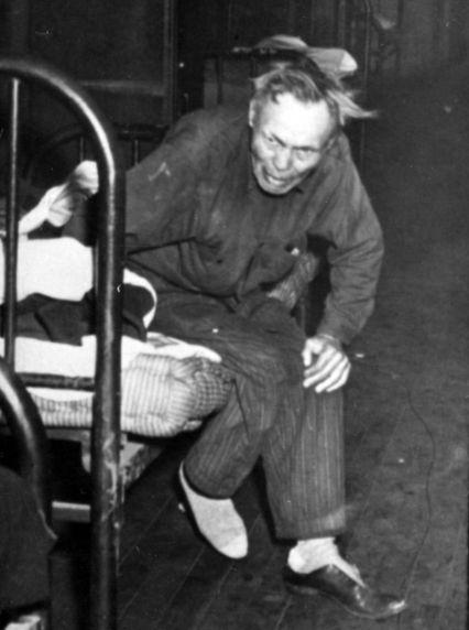 (1691) Poverty Scenes, Michigan Ave., Detroit, 1950s