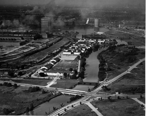 (1711) Military, Ford Motor Company, Navy Project, Dearborn, Michigan, 1941