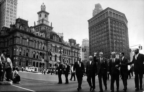 (1724) Parades, Labor Day, Detroit, 1956