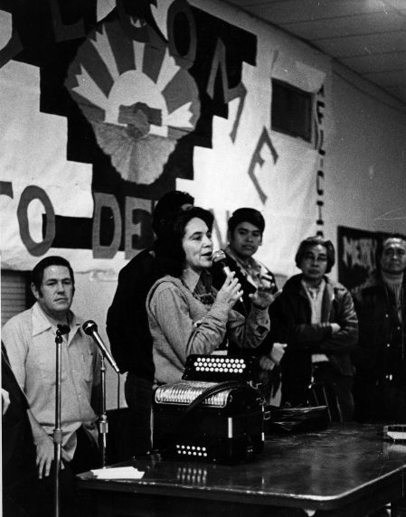 (186) Dolores Huerta, Delano, California, 1974