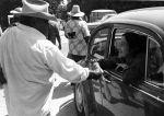 (189) Dolores Huerta, Gallo Strike, California,  1973