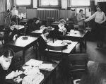 Classroom, Old Main, Detroit, Michigan