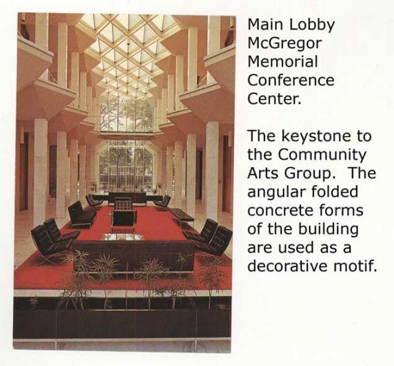 McGregor Memorial Building, interior, Detroit, Michigan