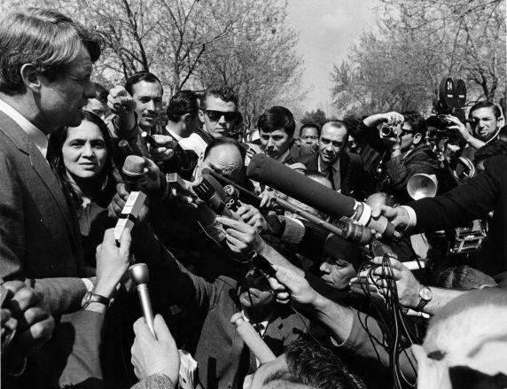 (201) Senator Robert Kennedy, Dolores Huerta, 1968