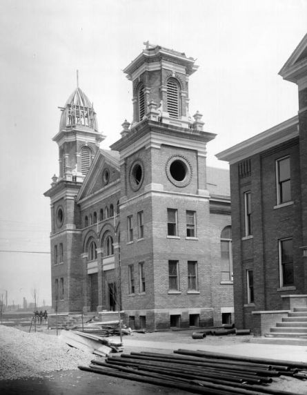 (20258) Ethnic Communities, Belgian, Our Lady of Sorrows Church, 1908