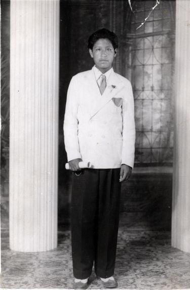 (229) Cesar Chavez, Childhood, 1942